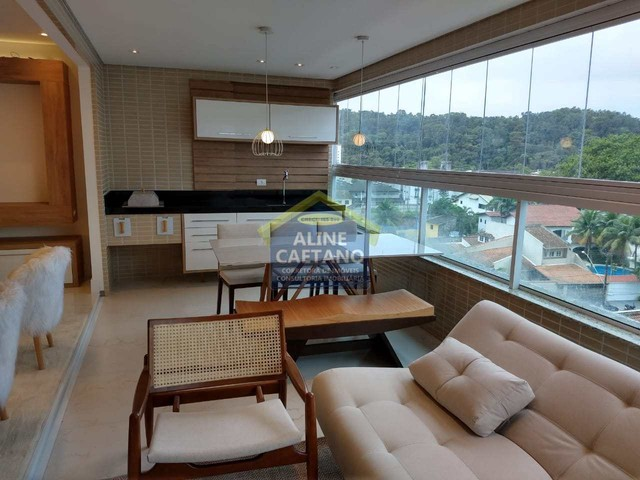 Apart. 4 dorms, 3 Vagas, Canto do Forte, JGA135 - Foto 8