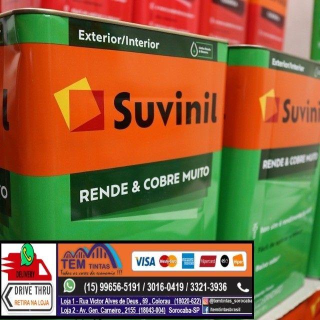 §Tinta Suvinil Rende Muito , rendimento de até 350 m2 /500m2