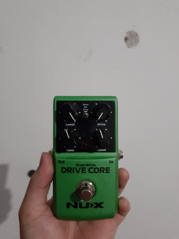 Pedal Overdrive Nux Drive Core