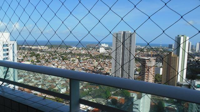 Apartamento decorado-3 quartos-prédio de porte-Encruzilhada/Recife/PE