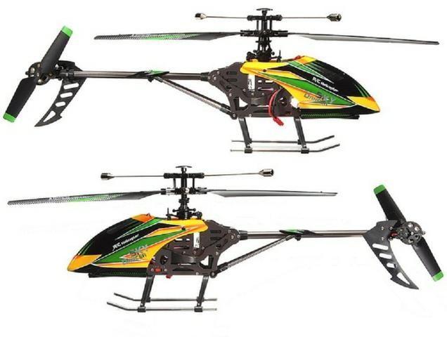Helicóptero V912 4ch Brushless Wltoys Pronta Entrega + bateria extra 1000 mAh