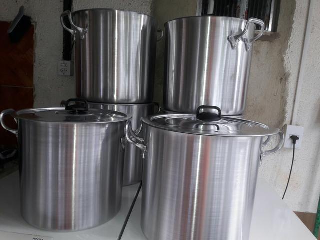 Panelões de 40 lts aluminio grossos