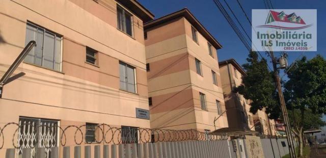 Apartamento com 2 dormitórios à venda por r$ 139.000 - sítio cercado - curitiba/pr - Foto 2