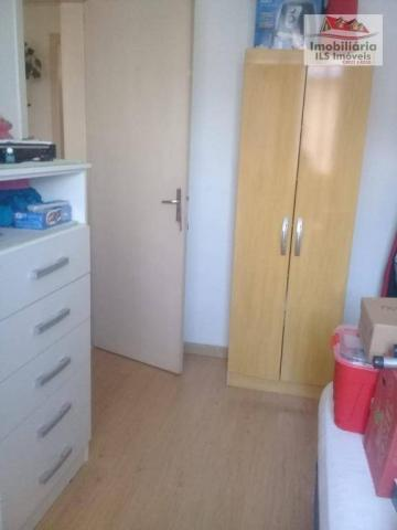 Apartamento com 2 dormitórios à venda por r$ 139.000 - sítio cercado - curitiba/pr - Foto 6