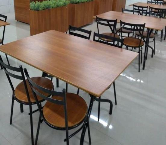 Mesa e Cadeira para Restaurante