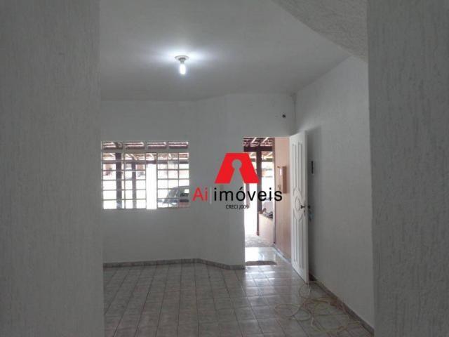 Sobrado com 2 dormitórios para alugar, 72 m² por r$ 1.150/mês - isaura parente - rio branc