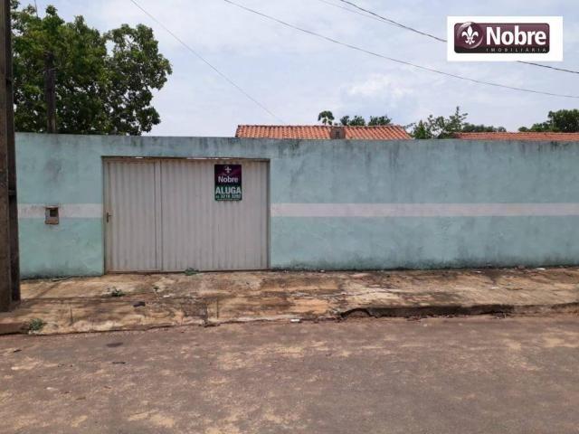 Casa para alugar, 52 m² por r$ 580,00/mês - plano diretor sul - palmas/to