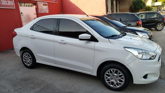 KA + (Sedan)/2015,Único Dono, Completo - Foto 5
