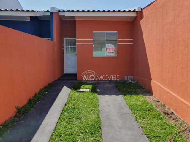 Casa com 2 dormitórios à venda, 41 m² por r$ 160.000 - campo de santana - curitiba/pr - Foto 12