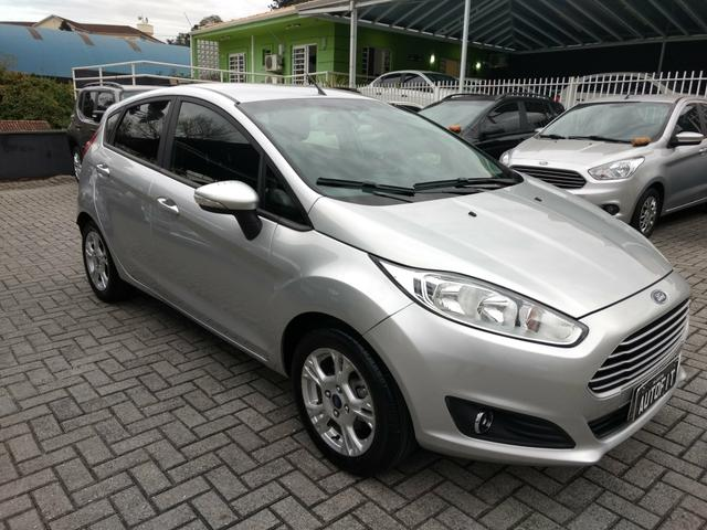 New Fiesta SE 1.6 Powershift Automatico de Único Dono 2014 - Foto 2