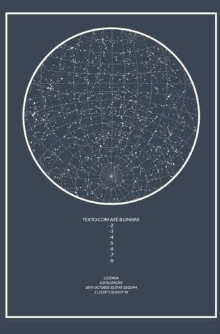 Mapa do céu - Foto 5