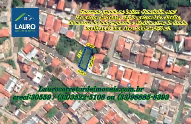 Terreno grande com 375 m² no Bairro Concórdia - Foto 2