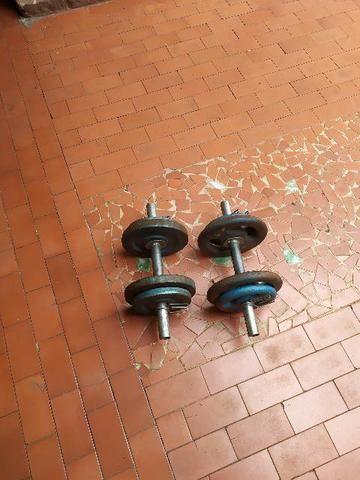 Halteres de 24kg usados. - Foto 4
