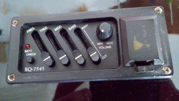 Violão elétrico Eagle GL 36 BK (aceito troca por videogame) - Foto 6