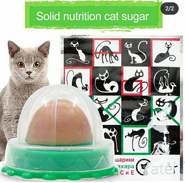 Snack para Gato Catnip Energy Ball
