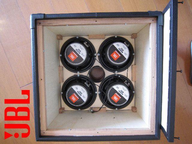 """Caixa para baixo 4x8"""" - Falantes JBL Novos. 560W - Foto 6"""