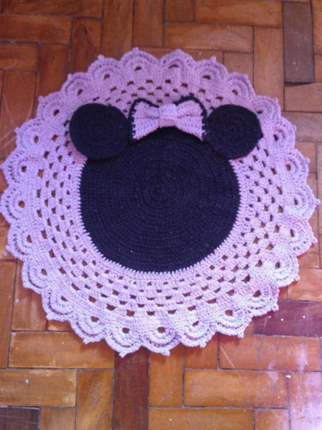 Lindos tapetes de Crochê, modelos diversos. - Foto 6