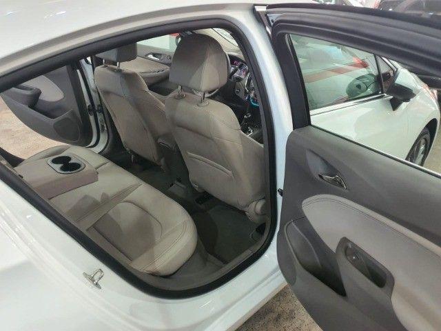 gm/cruze sedan ltz 1.4 turbo,ano 2018,u.dono,top de linha,branco,impecavel, sem detalhes - Foto 18
