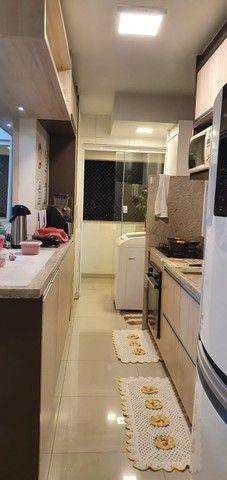 apartamento de 3 qts com escaninho, armários, porcelanato, condomínio reserva da amazônia - Foto 14