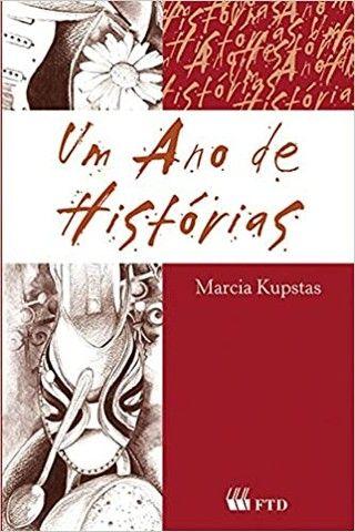 Livro- Um Ano de Histórias- de Marcia Kupstas