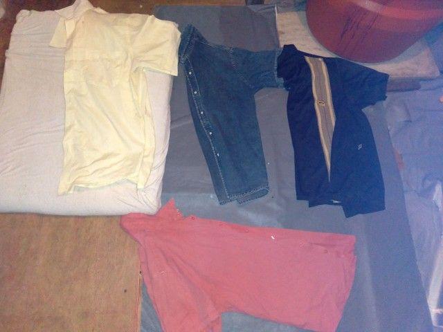 Lote de camisa de manga curta 25,00 - Foto 3