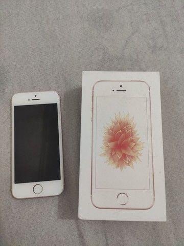 iPhone SE Ouro Rosa 32 GB - Foto 4