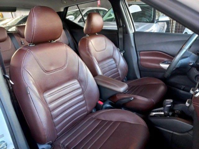 Nissan Kicks 1.6 SL  Automático CVT 2018 com interior marrom Extra! - Foto 11