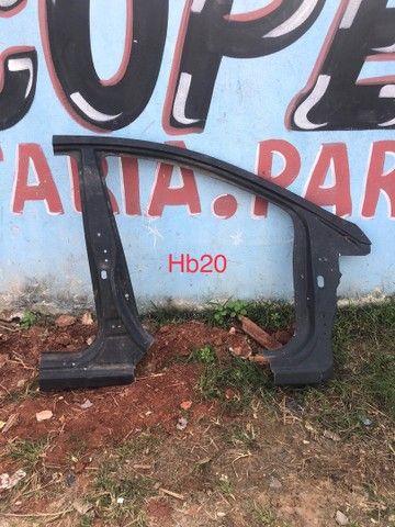 Retalho coluna caixa de ar Hb20