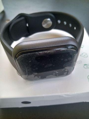 Smartwatch Relógio Inteligente Y68 D20Promoção/Compatível Com Android e IOS PRETO - Foto 3