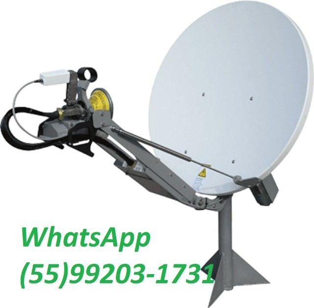 internet via satélite