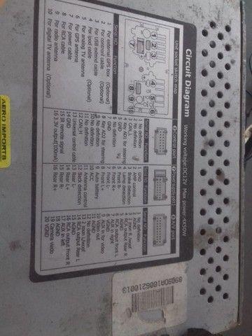 Vendo central multimídia Honda CRV 2007 R$380,00 - Foto 2