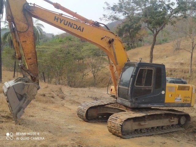 Escavadeira Hyundai LC 7 210 - Foto 6