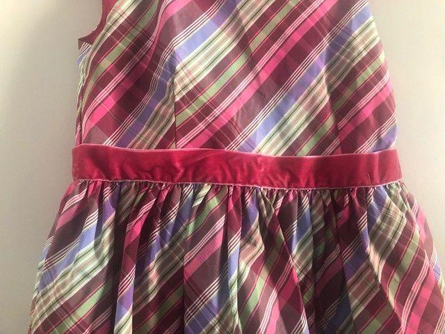 vestido infantil tommy hilfiger original 10/12 anos