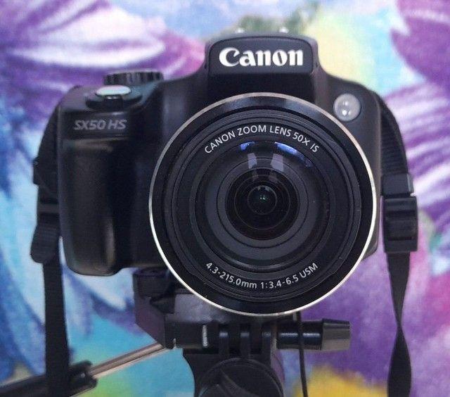Câmera Digital Canon_ PowerShot SX50 HS_FULLHD  - Foto 5