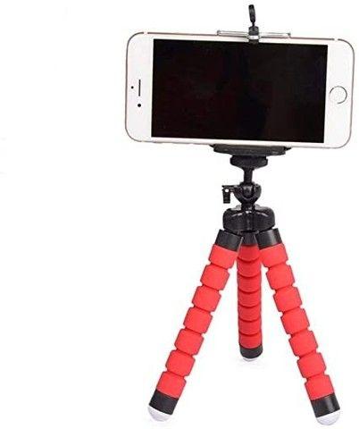 Tripé Para Celular Flexivel E Camera Vermelho - Foto 2