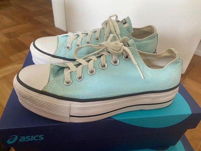Adidas Superstar Unissex usado tamanho 36 - Foto 2