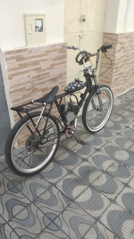 Bicicleta motorizada 80 cilindradas.