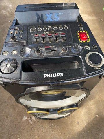 Som Philips tá sem a nota fiscal e sem garantia  - Foto 2
