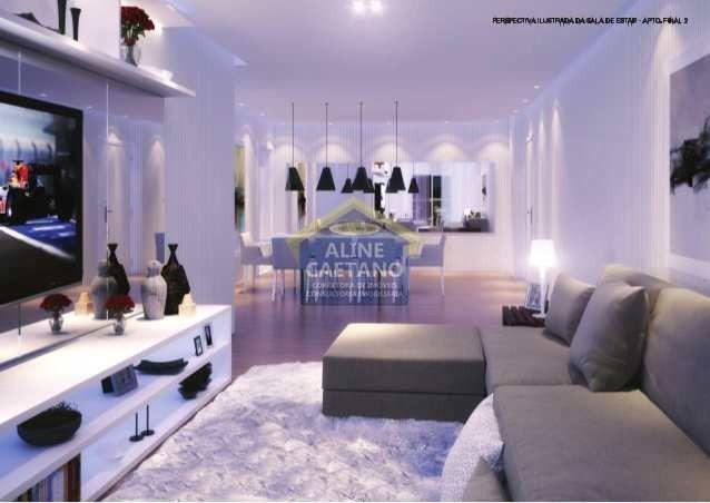 Apartamento 3 dorms, Alto Padrão - Forte - 124mts - Foto 16