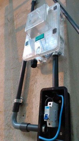 Eletricista profissional e paredes 3D de gesso - Foto 4