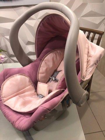 Vendo carrinho com bebê conforto  - Foto 5