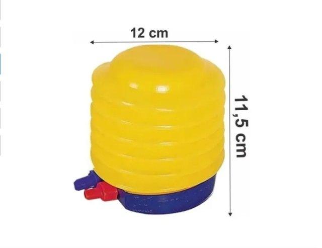 Bomba Inflador Manual Encher Balões, Bexigas e Brinquedos_c406 - Foto 3