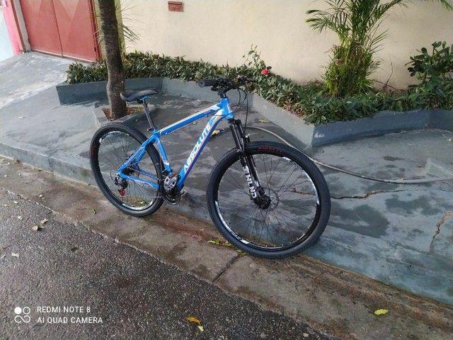 Bicicleta aro 29 aceito troca - Foto 2