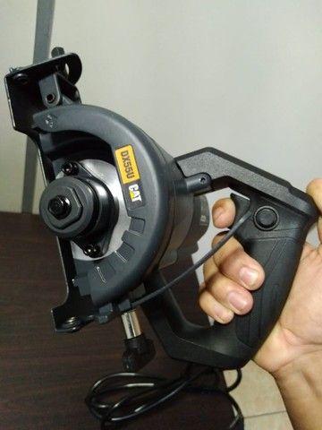 Serra Mármore CAT 1400W 110mm Corte 45/90Graus - Foto 5