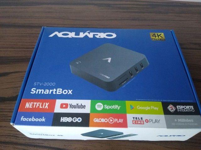 SmartBox Aquário, Transforme sua tv em SmartV - Foto 2