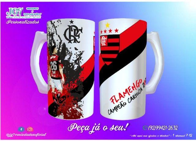 Caneca de Chopp Flamengo - Foto 6