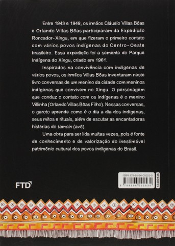 Livro- Xingu Os Contos do Tamoin- de Cláudio e Orlando Vilas Boas - Foto 2