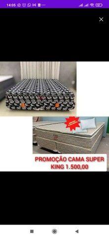 CAMA SUPER KING LIQUIDAÇÃO