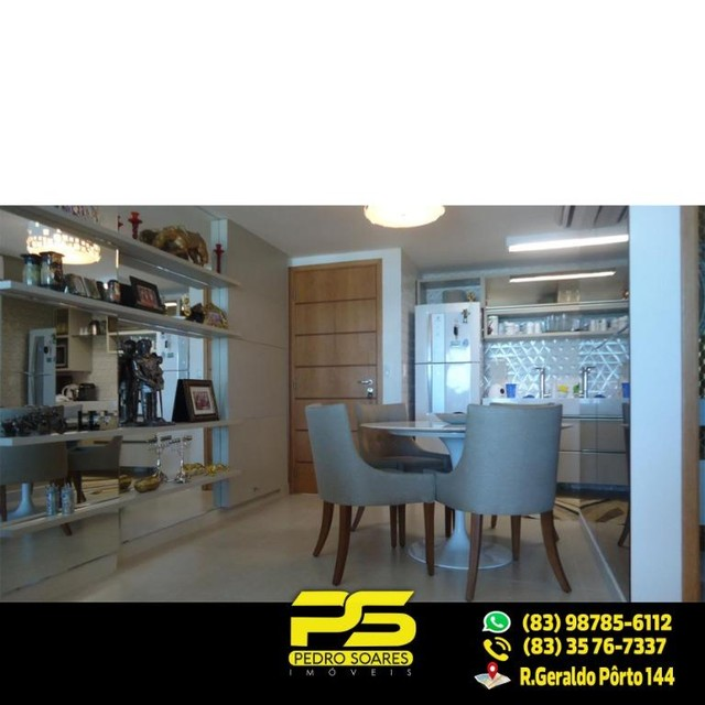 (LUXO) Cobertura com 2 qts sendo 1 suíte à venda, 130 m² por R$ 1.000.000 - Beira mar Cabo - Foto 8
