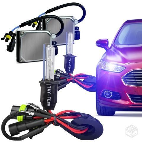Kit xenon carro moto 6000k 8000k H1 H3 H4 H H8 H11 Hb3 Hb4 H27 hid imports Atacado Jacui